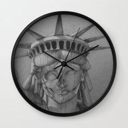 Estatua de la libertad Wall Clock