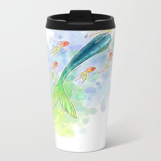Under the Sea Metal Travel Mug