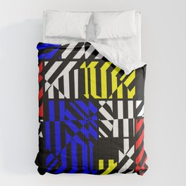 Best Abstract Art (Colored Squares Pattern) Comforters