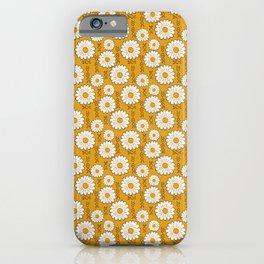 Small Harry Sunflower Shirt Flower Print Hippie Pop Art Floral Pattern iPhone Case