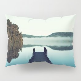 Gloomy dock Pillow Sham