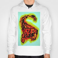 dinosaur Hoodies featuring Dinosaur  by Freda Gay Collections