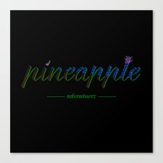 Pineapple Adventures Canvas Print