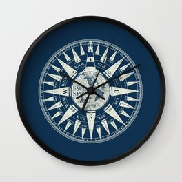 Sailors Compass Wall Clock
