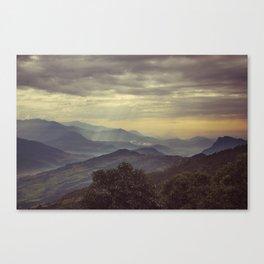 Annapurna Foothills. Canvas Print