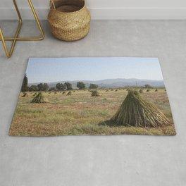 Sesame Crop and Harvest Rug