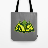 cthulhu Tote Bags featuring Cthulhu by Buby87