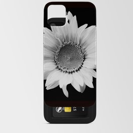 Sunflower In Black And White #decor #society6 #buyart iPhone Card Case