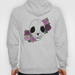 skull of roses Hoody