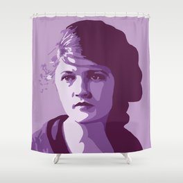 Zelda Fitzgerald Shower Curtain