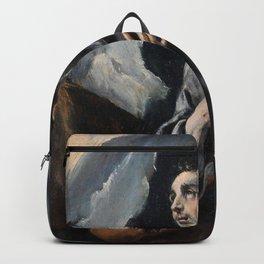 El Greco - St. Francis receiving the Stigmata Backpack
