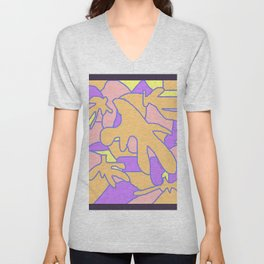 BLOBS Unisex V-Neck