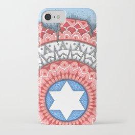 Captain (Star of David) America iPhone Case