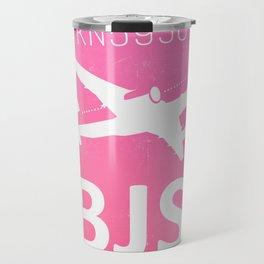 BJS Beijing Capital airport code Travel Mug