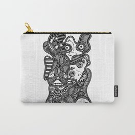 Faces in the Dark Carry-All Pouch