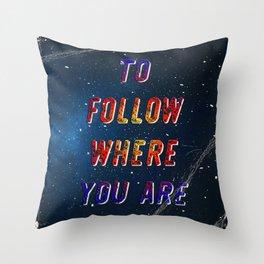 I'm wishing on a Star #2 - 50 Years Moonlanding Throw Pillow