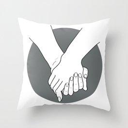 KEEP MY FAITH Throw Pillow
