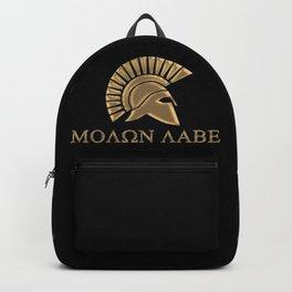 Molon lave-Spartan Warrior Backpack