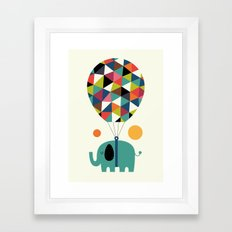 Fly High And Dream Big Framed Art Print