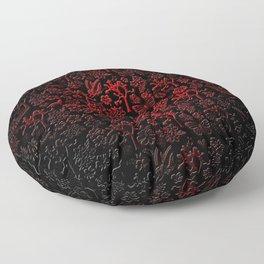 Joshua Tree Vampiro by CREYES Floor Pillow