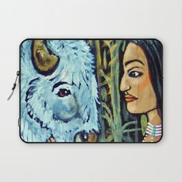 Sacred White Buffalo * Nature Maiden Laptop Sleeve