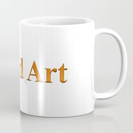 Word Art Coffee Mug