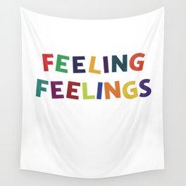 Feeling Feelings Wall Tapestry
