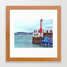 Harbour Framed Art Print