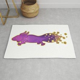 Galaxy Axolotl Rug