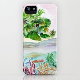 Mermaid Land iPhone Case