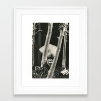 tim burton Framed Art Prints featuring Oyster Boy - tim burton by PaperTigress