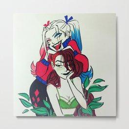 Harley and Ivy Metal Print