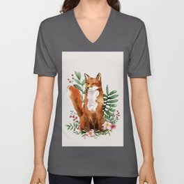 Autumn Fox II Unisex V-Ausschnitt