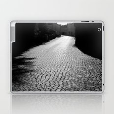 The alley by the wall Laptop & iPad Skin