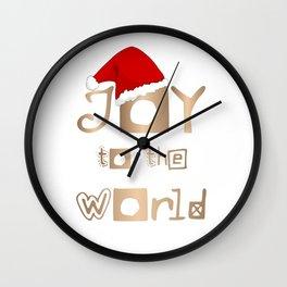 Joy to the World - Angels Announced Jesus Birth Wall Clock