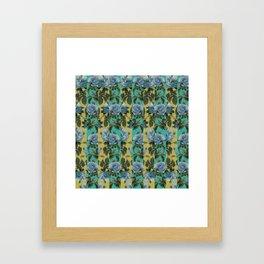 Rose Pattern Framed Art Print