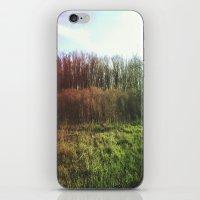 hiking iPhone & iPod Skins featuring Hiking Rainbow by Sabrina Elewa