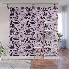 High Seas Adventure // Pink Wall Mural