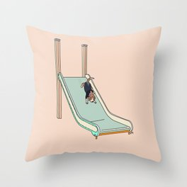 Do As Frank Does Throw Pillow