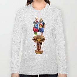 Burger Bombs Long Sleeve T-shirt
