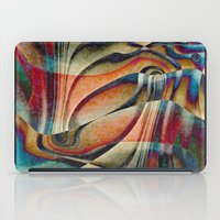 waterfall iPad Cases featuring Waterfall by Klara Acel