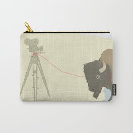 Bison & Camera Carry-All Pouch