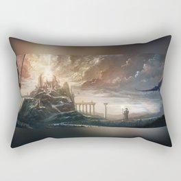 The Howling Rift Rectangular Pillow