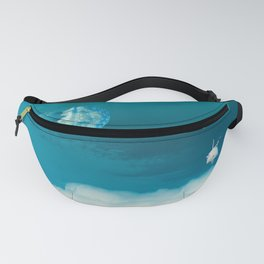 Time Rabbit and jellyfish Fanny Pack
