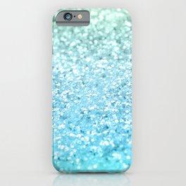 Seafoam Aqua Ocean MERMAID Girls Glitter #1 #shiny #decor #art #society6 iPhone Case