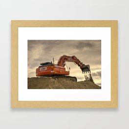 Can u dig it .?  Framed Art Print