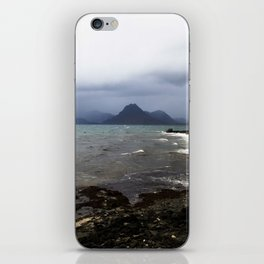 Elgol Scotland - Stormy Seas iPhone Skin