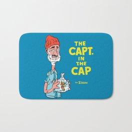 The Capt. In The Cap Bath Mat