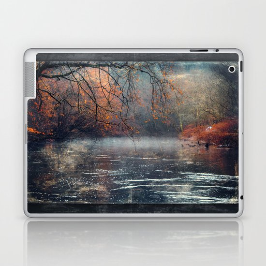 between fall & winter Laptop & iPad Skin