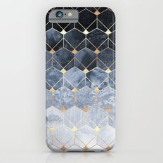 Blue Hexagons And Diamonds Slim Case iPhone 6s